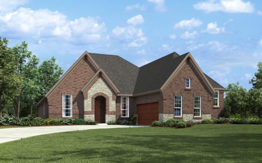 Drees Custom Homes Union Park subdivision 7009 Central Court Aubrey TX 76227