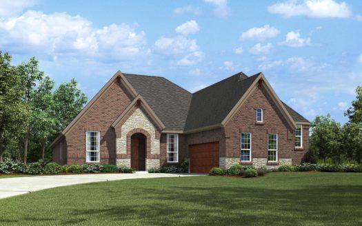 Drees Custom Homes Union Park subdivision 7009 Central Court Aubrey TX 76227
