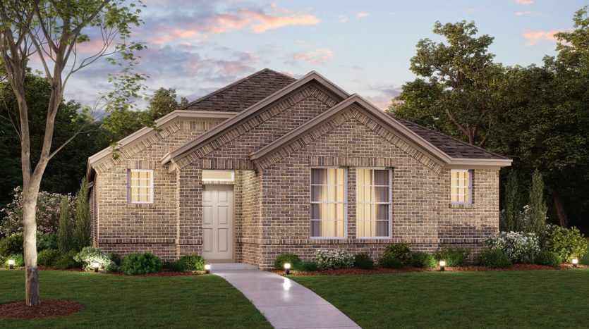 M/I Homes Harvest subdivision 708 Streetside Lane Argyle TX 76226
