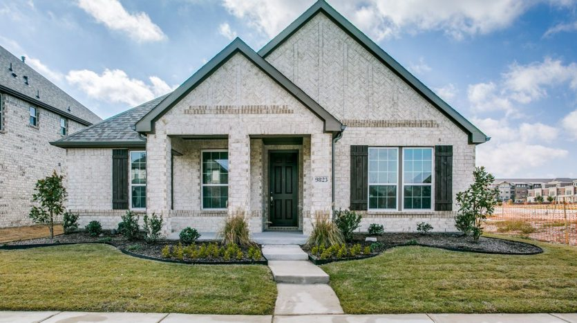KB Home Retreat at Stonebriar subdivision 9823 Gristmill Ln. Frisco TX 75035