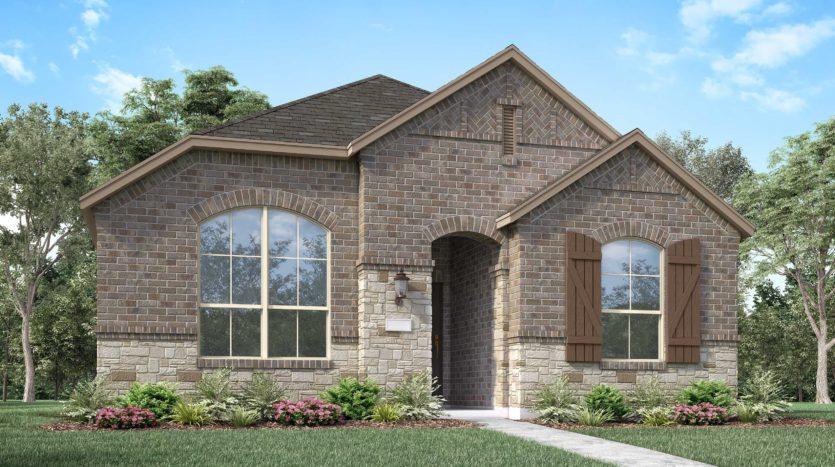 Highland Homes Harvest: Townside subdivision 704 Streetside Lane Argyle TX 76226