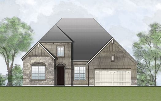 Drees Custom Homes Union Park subdivision 7029 Central Court Aubrey TX 76227
