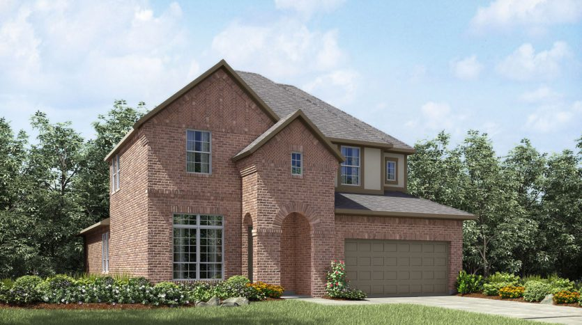 Drees Custom Homes Trailwood subdivision 11351 Misty Ridge Drive Roanoke TX 76262