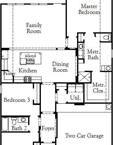 Coventry Homes Union Park subdivision 5008 Union Park Blvd East Aubrey TX 76227