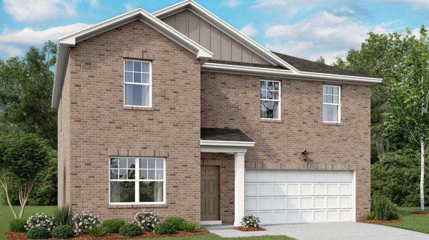 Starlight Homes Pecan Grove subdivision 832 Cedar Elm Anna TX 75409