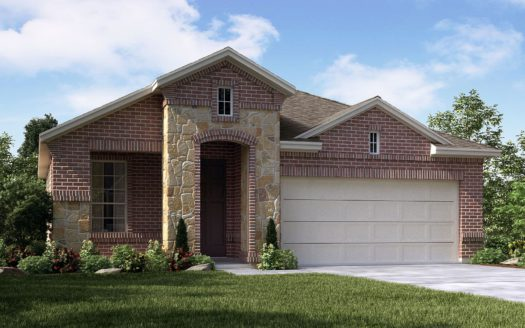 Meritage Homes Ranch Park Village - Texana Series subdivision 7309 Bronco Bluff Sachse TX 75048
