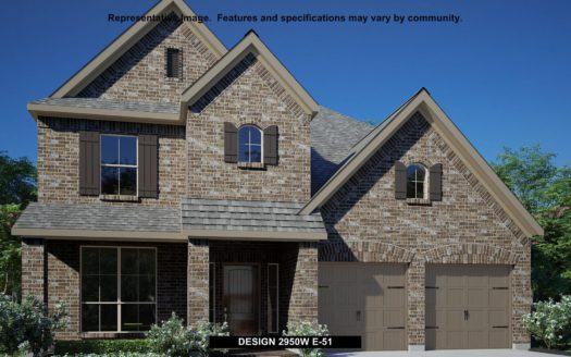Perry Homes Pecan Square 50' subdivision 2421 ROBIN WAY Northlake TX 76247