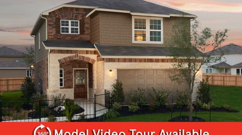 Centex Homes Travis Ranch subdivision 2109 Silsbee Court Forney TX 75126