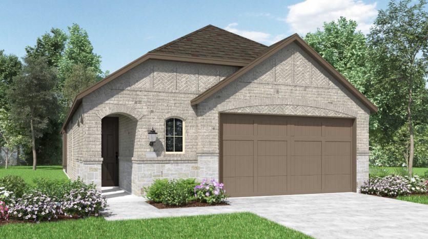 Highland Homes Sandbrock Ranch: 45ft. lots subdivision 1732 Coronet Avenue Aubrey TX 76227