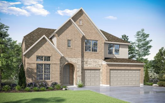 Drees Custom Homes Trinity Falls 60' subdivision 909 Lost Woods Way McKinney TX 75071