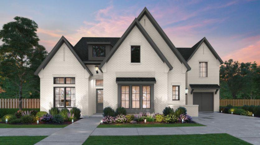 Southgate Homes Brockdale Estates subdivision 410 Lakeshore Blvd Lucas TX 75002