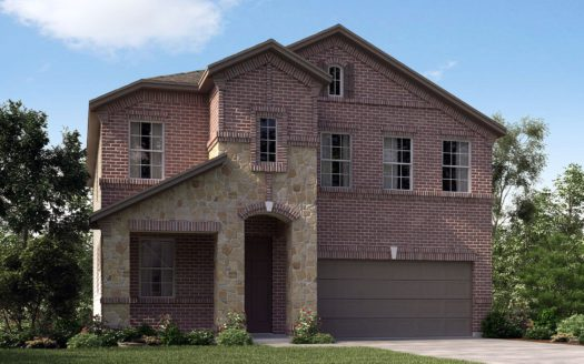 Meritage Homes Ranch Park Village - Texana Series subdivision 4125 Ranchero Drive Sachse TX 75048
