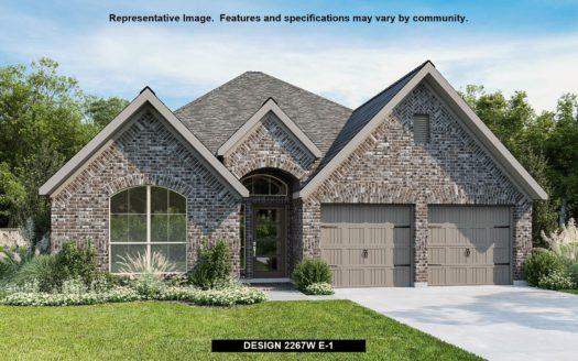 Perry Homes M3 Ranch 50' subdivision 1313 Limestone Ridge Road Mansfield TX 76063