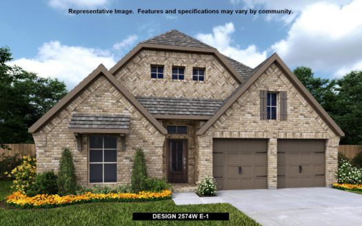 Perry Homes Pecan Square 50' subdivision 2306 COBBLER STREET Northlake TX 76247