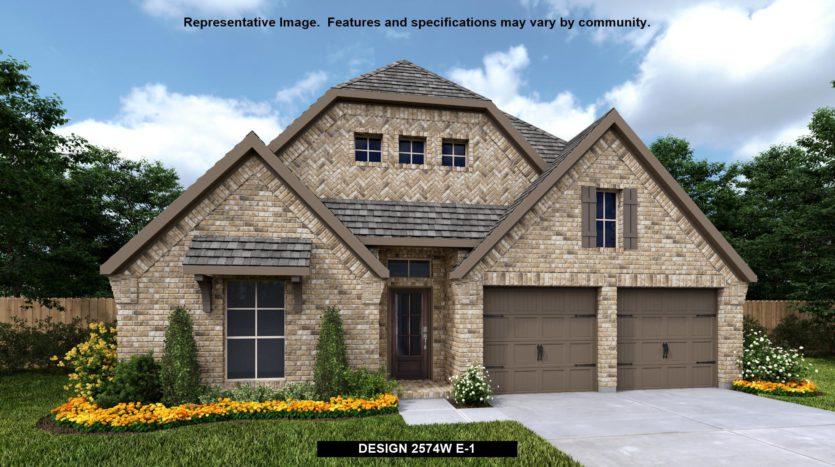 Perry Homes Trinity Falls 50' subdivision 908 SAFFOLD TRAIL McKinney TX 75071