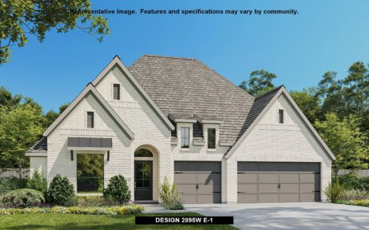 Perry Homes Sandbrock Ranch 60' subdivision 4100 PALOMINO ROAD Aubrey TX 76227