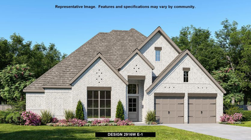 Perry Homes Trinity Falls 60' subdivision 905 Lost Woods Way McKinney TX 75071