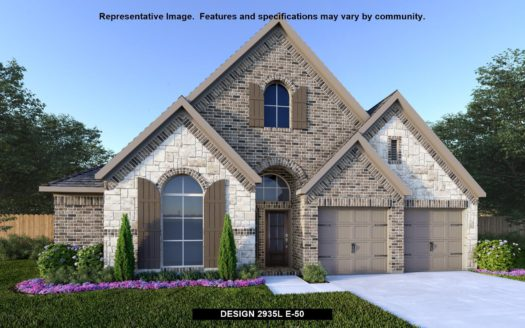 Perry Homes Lakewood at Brookhollow 55' subdivision 820 FOXFIELD COURT Prosper TX 75078