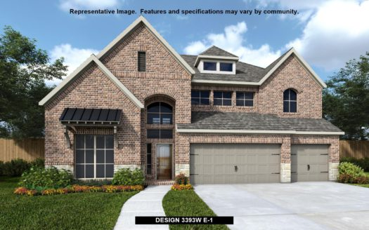 Perry Homes Devonshire 60' subdivision 1022 Hoxton Lane Forney TX 75126