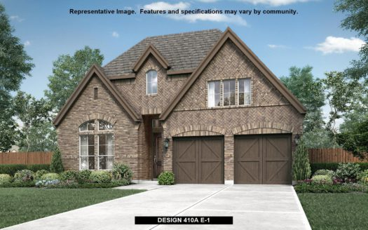 BRITTON HOMES Castle Hills 50' subdivision 3725 Dame Cara Way Lewisville TX 75056