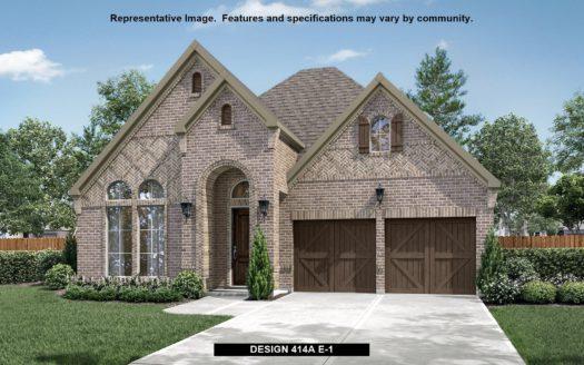 BRITTON HOMES Castle Hills 50' subdivision 4928 WHITE LION LANE The Colony TX 75056