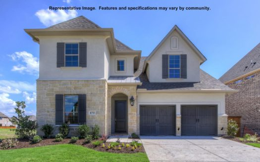BRITTON HOMES The Tribute 50' subdivision 8405 Wembley The Colony TX 75056