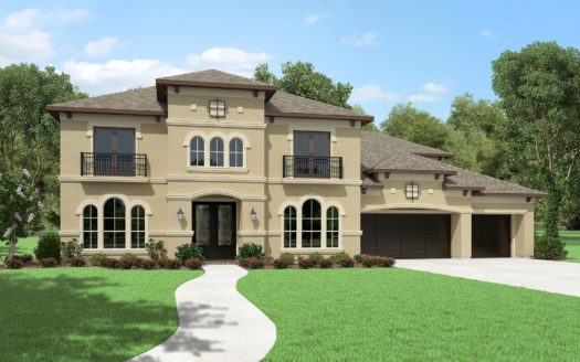 Perry Homes Canyon Falls 80'/100' subdivision 213 Big Sky Circle Northlake TX 76262