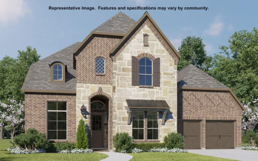 BRITTON HOMES Mustang Lakes 60' subdivision 2313 Sorrelwood Court Celina TX 75009