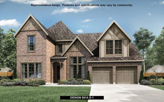 BRITTON HOMES Star Trail 76' subdivision 851 Overlook Drive Prosper TX 75078