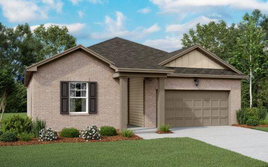Starlight Homes Pecan Grove subdivision 3018 Aspen Drive Anna TX 75409