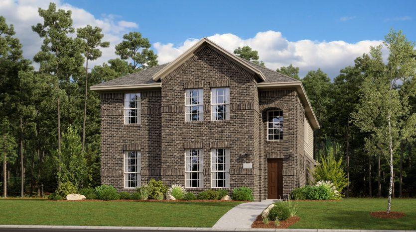 Lennar Riverplace Parks subdivision 5458 Windsong Way Garland TX 75040