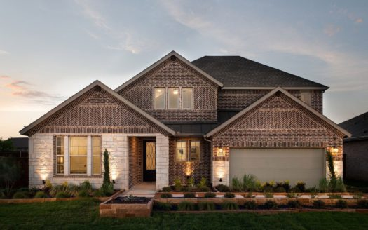Tri Pointe Homes Discovery Collection 60 at Gateway Parks subdivision 1604 Cedar Crest Drive Forney TX 75126