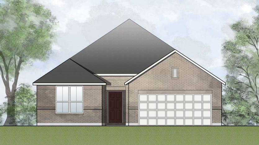 Drees Custom Homes Timber Creek 60's subdivision 2712 Oak Blossom McKinney TX 75071