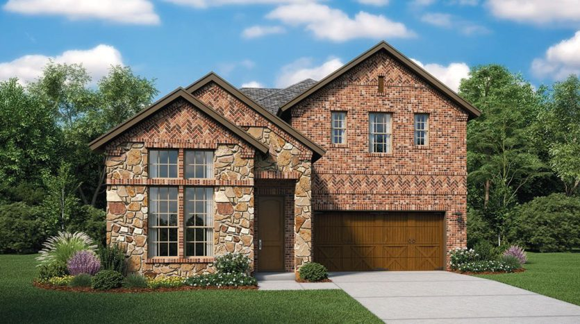 Lennar Estancia subdivision 4217 Yucca Drive Irving TX 75038