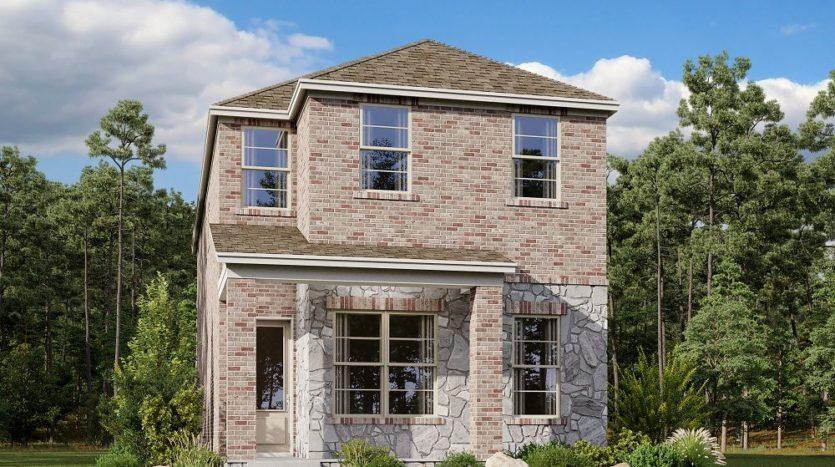 Ashton Woods Urban Trails Cottages subdivision 6155 Holiday Lane North Richland Hills TX 76180