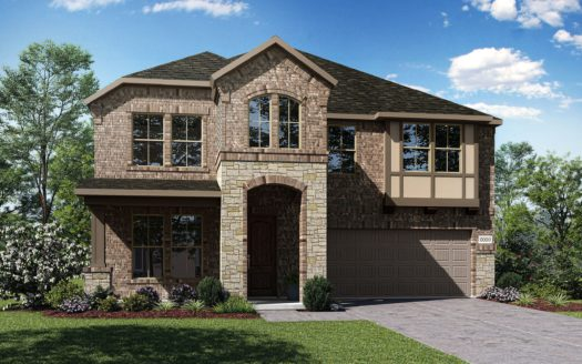 Tri Pointe Homes Stark Farms subdivision 5301 Pagewood Drive Denton TX 76207