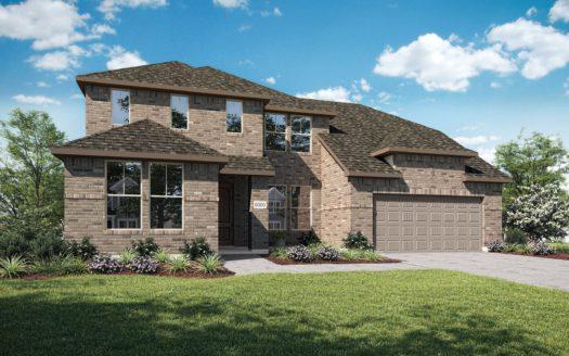 Tri Pointe Homes Lakeside Estates at Paloma Creek subdivision 612 Lake Cove Drive Little Elm TX 75068