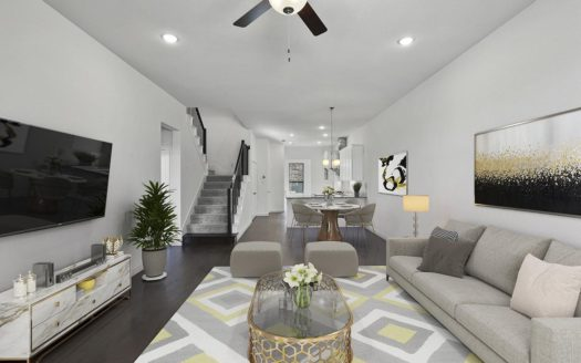 CB JENI Homes Villas at Southgate subdivision 337 Bridgewater Avenue Flower Mound TX 75028
