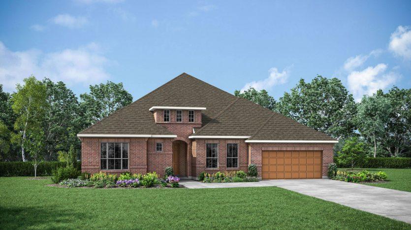 Drees Custom Homes Canyon Falls subdivision 201 Big Sky Circle Northlake TX 76226