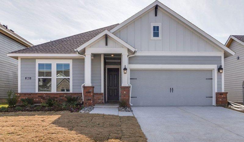David Weekley Homes Pecan Square subdivision 709 Redbrick Lane Northlake TX 76247