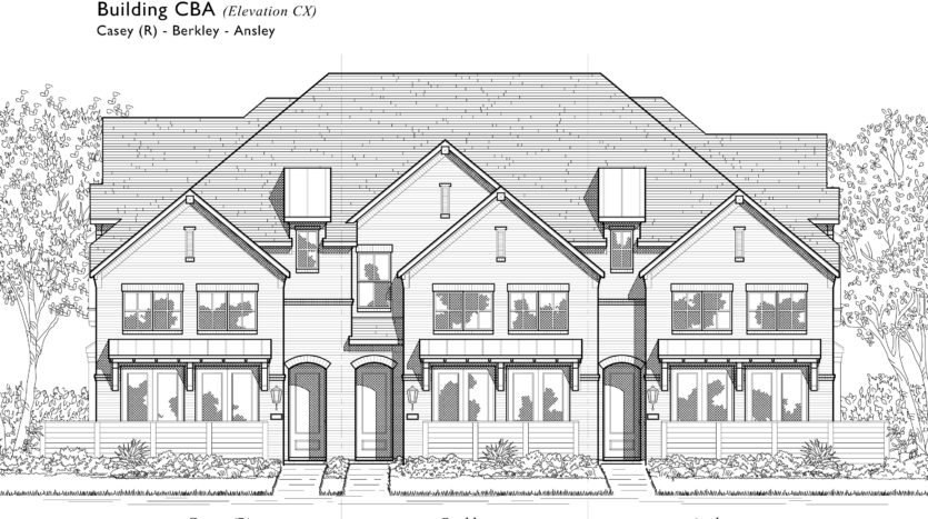 Highland Homes Trinity Falls: Townhomes - 22ft. lots subdivision 8329 Oak Island Trail McKinney TX 75071