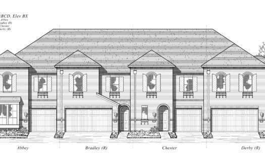 Highland Homes Devonshire: Townhomes - 25ft. lots subdivision 1222 Abbeygreen Rd. Forney TX 75126