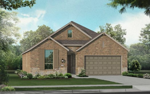 Highland Homes Arrowbrooke: 50ft. lots subdivision 1308 Sumner Street Aubrey TX 76227