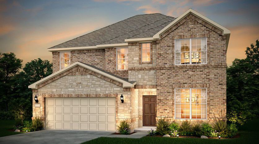 Pulte Homes Woodcreek subdivision 839 McCall Drive Fate TX 75087