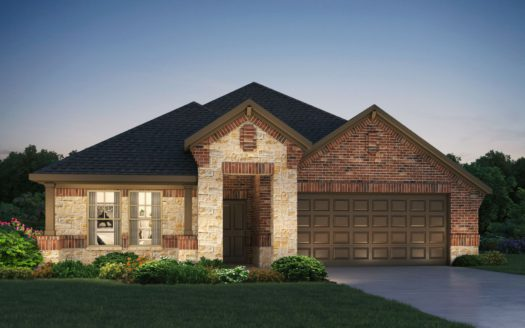 Meritage Homes Woodcreek subdivision 835 McCall Drive Fate TX 75132