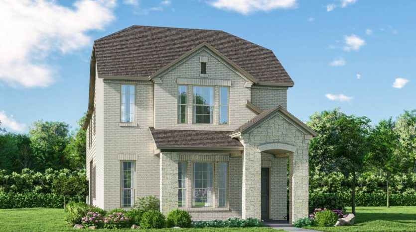 Meritage Homes Ranch Park Village - Cottage Series subdivision 4138 Ranchero Drive Sachse TX 75048
