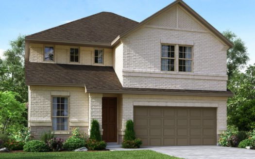 Meritage Homes The Enclave at Oak Grove subdivision 2140 Wyatt Way Little Elm TX 75068