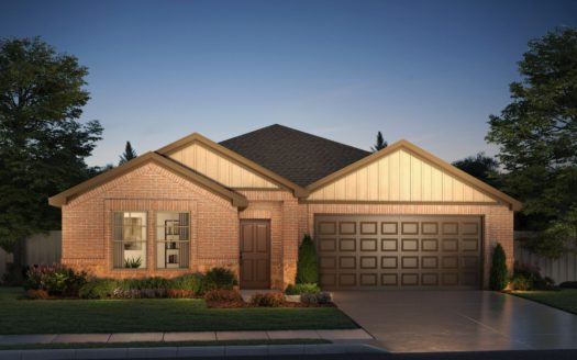 Meritage Homes ArrowBrooke - Classic Series subdivision 1521 Pleasant Knoll Trail Aubrey TX 76227