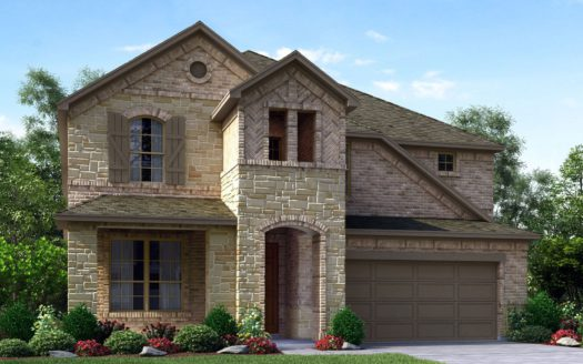 Meritage Homes The Enclave at Oak Grove subdivision 2116 Wyatt Way Little Elm TX 75068