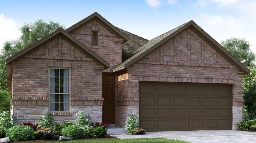 Meritage Homes Ranch Park Village - Texana Series subdivision 4121 Ranchero Drive Sachse TX 75048